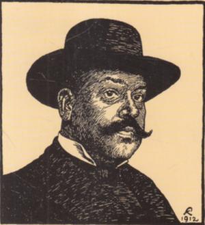 Kristian Kongstad - Image: Kristian Kongstad self portrait 1912