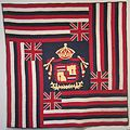 Ku'u Hae Aloha (My Beloved Flag), Hawaiian cotton quilt from Waimea, before 1918, Honolulu Academy of Arts.jpg