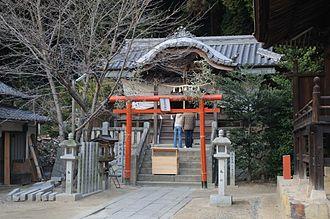 Kumano shrine - A Kumano shrine in Kurashiki, Okayama
