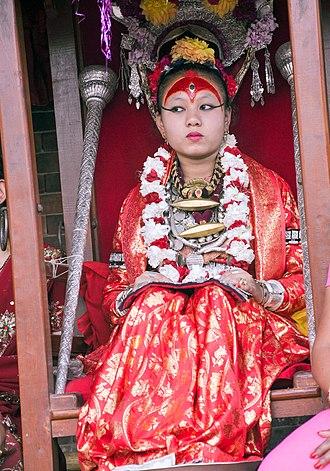 Kumari (goddess) - Kumari in 2011