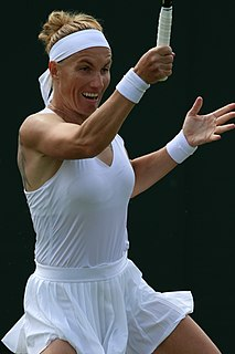 Svetlana Kuznetsova Russian tennis player