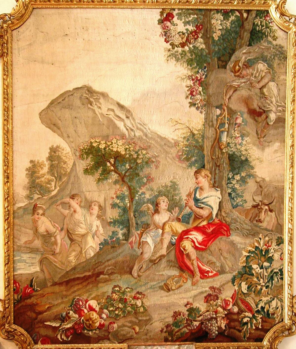 Tapisserie d 39 aubusson wikip dia - Qu est ce que la tapisserie de bayeux ...