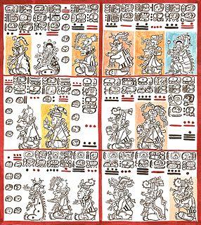 Maya codices Manuscript written by the pre-Columbian Maya civilization in Maya hieroglyphic script