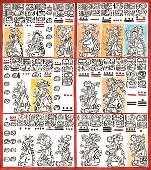 Dresden Codex - Dresden Codex, pages 10 and 11