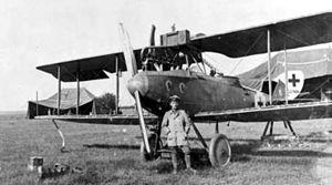 LVG C.V - Image: LVG C.V aircraft with pilot c 1918