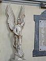 La Coquille église statue St Michel.JPG
