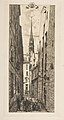 La Rue des Chantres (Rue des Chantres, Paris) MET DP813250.jpg