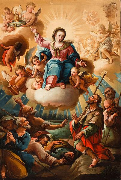 Archivo:La Venida de la Virgen del Pilar a Zaragoza (Museo Ibercaja Camón Aznar).jpg