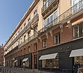 La rue Maurice-Fonvieille, no 1 immeuble (1824-1834) Inscrit aux monuments Historiques.jpg