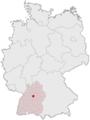 Lage der kreisfreien Stadt Stuttgart in Deutschland.png