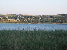Scorcio del lago