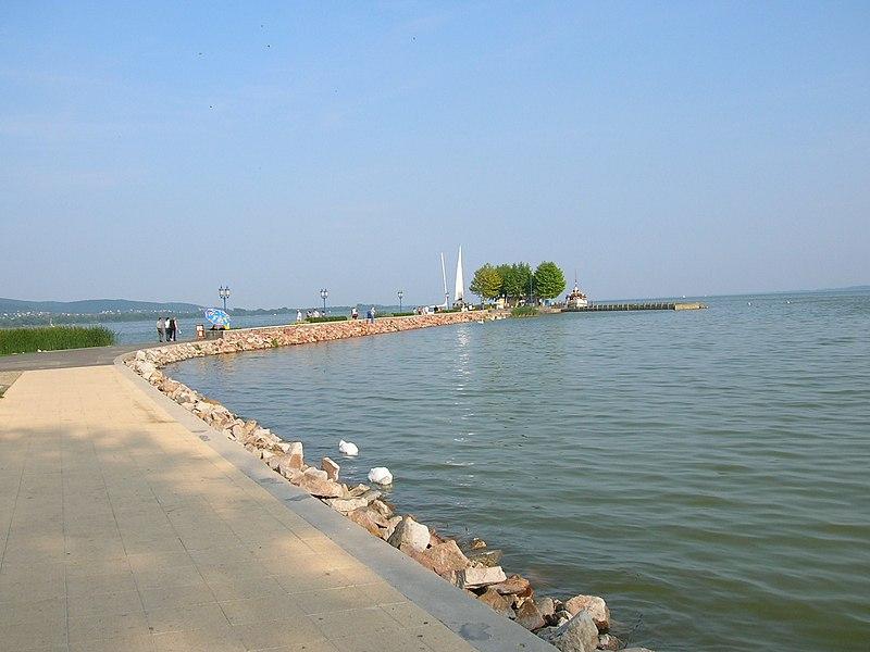 File:Lake Balaton at Keszthely.jpg