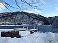 Lake Chuzenjiko and snowpack 2.JPG