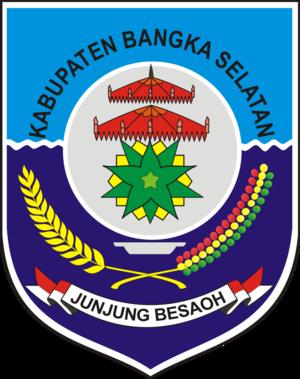 Toboali - Image: Lambang Kabupaten Bangka Selatan