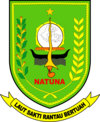 Official seal of Natuna Islands