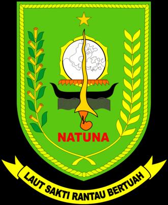 Natuna Islands - Image: Lambang Kabupaten Natuna