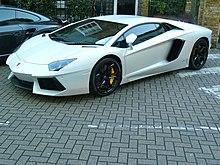 Lamborghini Aventador Wikipedia