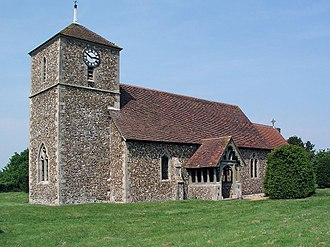 Langley, Essex - Image: Langley Church, Upper Green. geograph.org.uk 4503