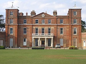 English: Langley School. Langley Hall was buil...