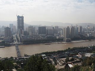 Yellow River in Lanzhou