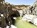 Large Water Hole, Zafit Creek, Araba Valley, Israel גב מים גדול, נחל צפית - panoramio.jpg