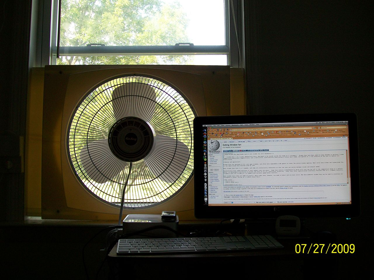 Small Window Fan