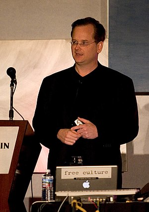 Free culture movement - Image: Larry lessig etech 05 050317