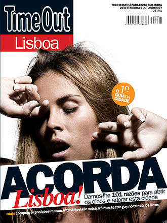 Time Out Group - Launch cover for Time Out Lisbon Magazine