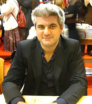 Laurent Gaudé - Laurent Gaudé at Salon du Livre in Paris (2009)