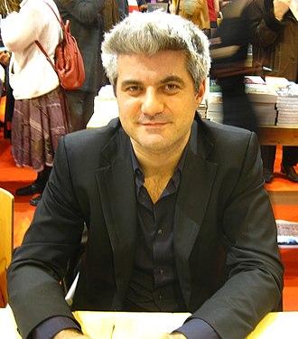 Laurent Gaudé - Laurent Gaudé at Salon du Livre in Paris (2009)