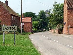 Laxton, Nottinghamshire - Image: Laxton Nottinghamshire