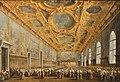 Le Doge de Venise remercie le Conseil majeur - Francesco Guardi - Q18573865.jpg
