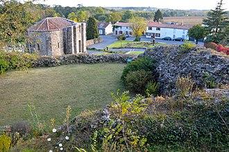Le Pallet - The chapel of Sainte-Anne, in Le Pallet