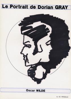 Le Portrait de Dorian Gray Oscar Wilde (1992, Encre de Chine, 21 x 29 cm)