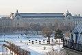 Le jardin des Tuileries et le musée d'Orsay sous la neige, Paris 2009.jpg