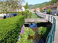 Le ruisseau du Rombach au milieu du village.JPG