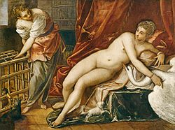 Tintoretto: Leda and the Swan