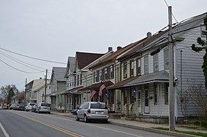 West Lebanon Township, Lebanon County, Pennsylvania - Houses on Lehman Street