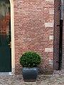 Leiden - Metselwerk met accolade bij Hortus Botanicus.jpg