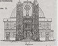 Lemberg Tempel 1896 – proposal of Julian Zachariewicz – western façade.jpg