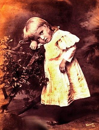 León de Greiff - León de Greiff at the age of one. Taken by Melitón Rodríguez Roldán in 1896.