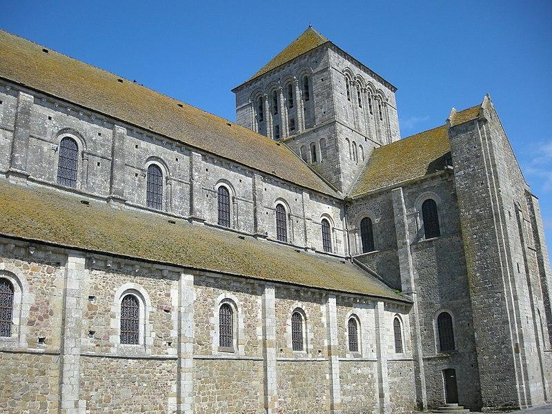 Abbaye de Lessay (département de la Manche)