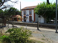 Leucate-La Franqui (Aude), train station.jpg