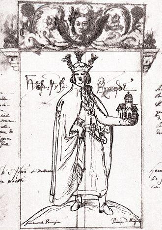 Zugdidi - Prince Levan II Dadiani by Teramo Castelli