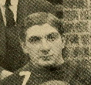 George Levene - Levene pictured on the 1906 Penn football team