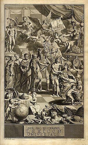 Lexicon Universale - Image: Lexicon Universale