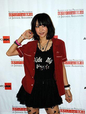 LiSA (Japanese musician, born 1987) - Image: Li SA at Anime Expo 2012 (by Erika Rodriguez)