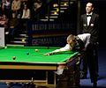Liam Highfield and Theo Selbertinger at Snooker German Masters (DerHexer) 2015-02-04 01.jpg