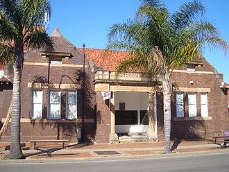 Lidcombe - Former Lidcombe Post Office, Joseph Street
