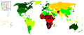 Life Expectancy 2007 Estimates CIA World Factbook.PNG